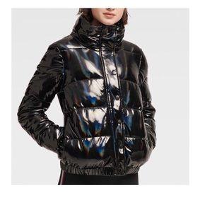 NWT. DKNY Iridescent Down Jacket. Size M.